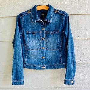 LIVERPOOL denim jean jacket women's s stitch fix